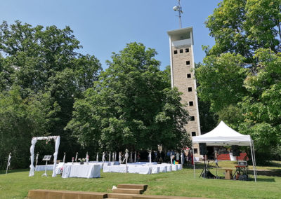 Uhlbergturm Hochzeit