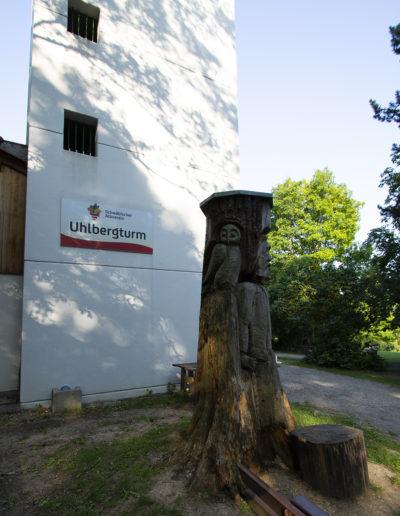 Uhlbergturm Wanderer 04
